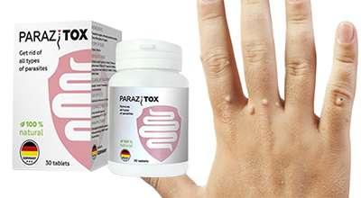 Паразитокс от бородавок