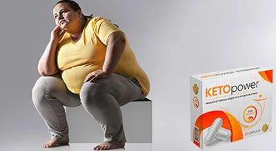 Капсулы Keto Power от ожирения.